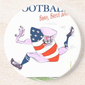 Football born bred proud, tony fernandes coaster