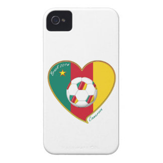 """Football """"CAMEROON"""" Soccer Team Soccer of Cameroun Case-Mate iPhone 4 Cases"""