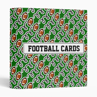 Football card binder for collector (no sleeves)