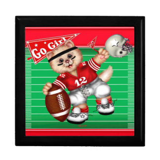 FOOTBALL CAT CUTE GIFT BOX LARGE 2