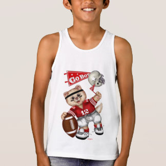FOOTBALL CAT Kids' Bella+Canvas Jersey Tank Top