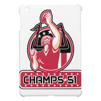 Football Champs 51 Atlanta Retro iPad Mini Cases