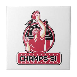 Football Champs 51 Atlanta Retro Tile