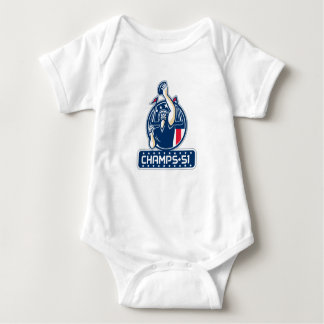 Football Champs 51 New England Retro Baby Bodysuit