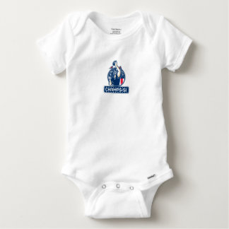 Football Champs 51 New England Retro Baby Onesie