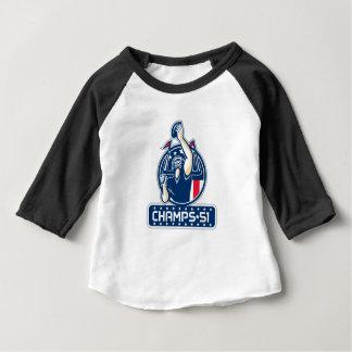Football Champs 51 New England Retro Baby T-Shirt