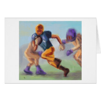 Football Chase Card
