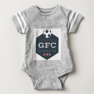 Football Club Kids Jersey By Bangees Edge Baby Bodysuit