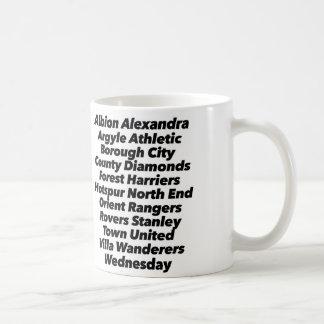 Football Clubs Mug