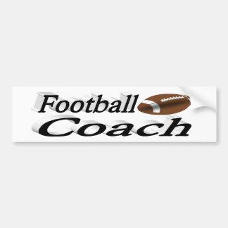 Football Coach 3D Bumper Sticker