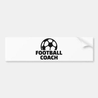 Football coach bumper sticker