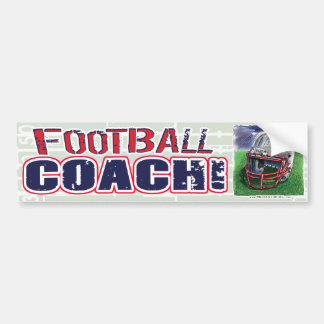 Football Coach! Bumpersticker Bumper Sticker