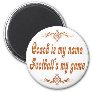 Football Coach Magnet