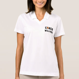 Football Coach Personalized Polos