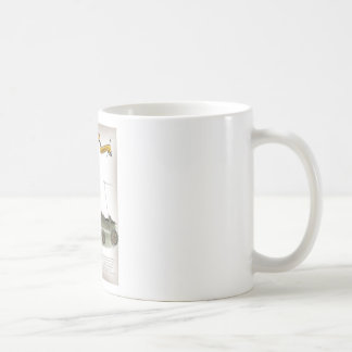 football coach red white stripes coffee mug