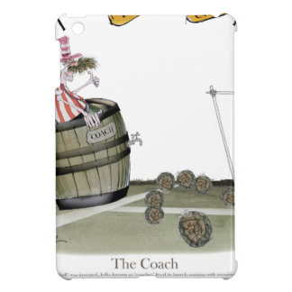 football coach red white stripes cover for the iPad mini