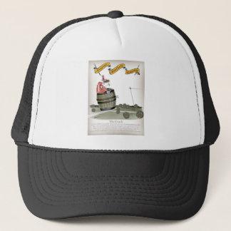 football coach reds trucker hat