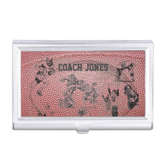Football Coach, Referee, Trainer Business Card Holder