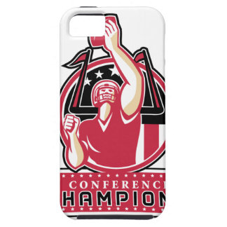 Football Conference Champions Atlanta Retro Case For The iPhone 5