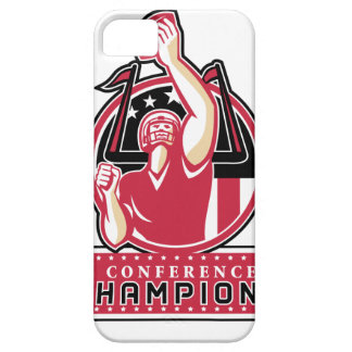 Football Conference Champions Atlanta Retro iPhone 5 Cover