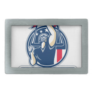 Football Conference Champions New England Retro Belt Buckles