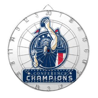 Football Conference Champions New England Retro Dartboard