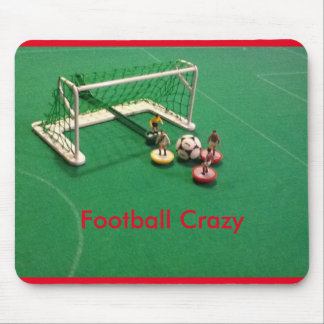Football Crazy Mouse Mat Mouse Pad