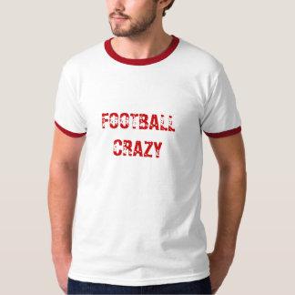 Football crazy tee shirt