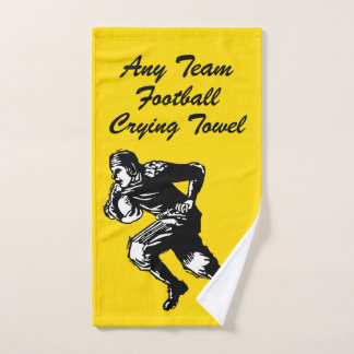 Football Crying Towel Your Team and Color