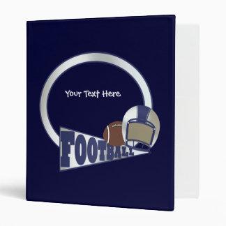 Football (customizable) vinyl binders