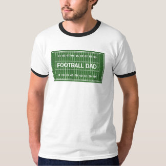 Football Dad Design Clothing T-Shirt