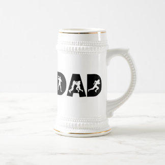 Football Dad Father's Day 18 Oz Beer Stein