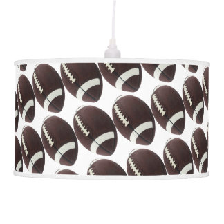 Football Decor Man Cave Modern Pendant Lamp