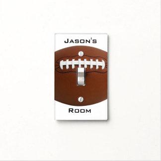 Football Design Light Switch Cover