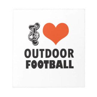 football design notepad