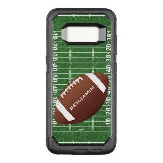 Football Design Otter Box OtterBox Commuter Samsung Galaxy S8 Case