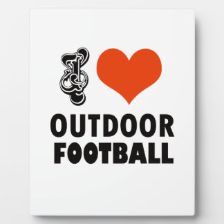 football design plaque