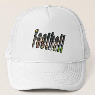 Football Dimensional Logo, Trucker Hat