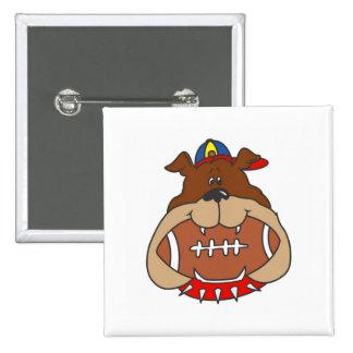 Football Dog Pin