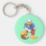 Football Donald Duck Key Chain