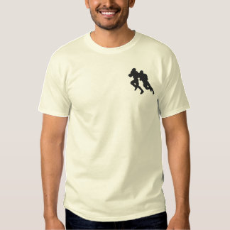 Football Embroidered T-Shirt