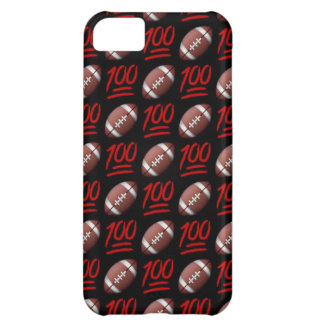 Football Emoji iPhone 5C Phone Case