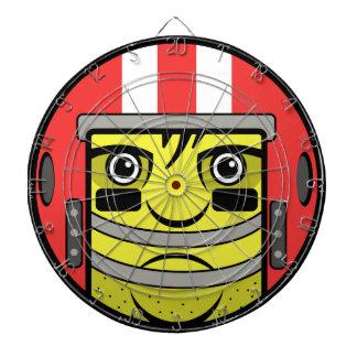 Football Face Dartboard