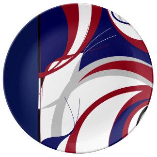 Football Fan Inspired Plate