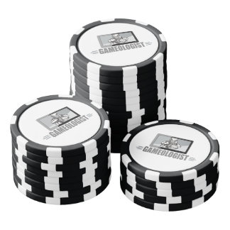 Football Fan Joke - Gameologist! Poker Chips Set