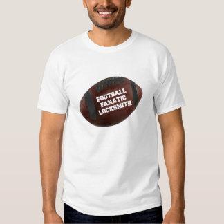 Football Fanatic Locksmith T Shirts