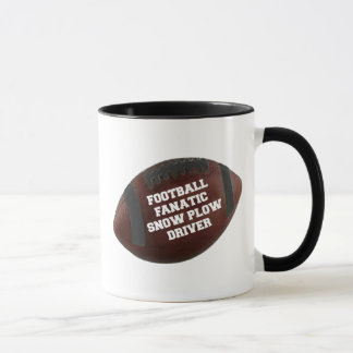 Football Fanatic Snow Plow Driver Mug