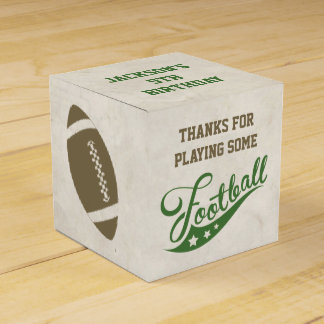 Football Favour Boxes for Birthday Party Party Favor Box
