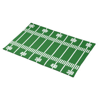Football Field 50 Yard Line Placemat