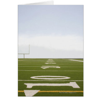Football Field Card